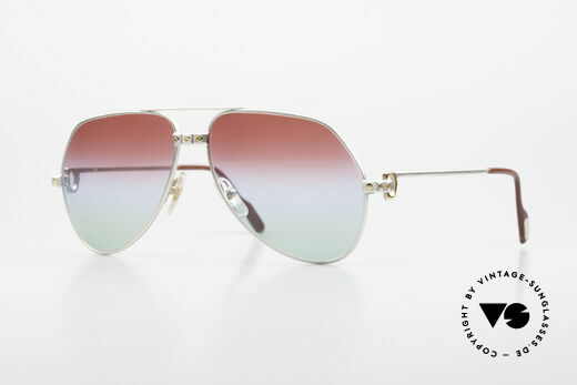 Cartier Vendome Santos - M Palladium Edition Polarlicht Details