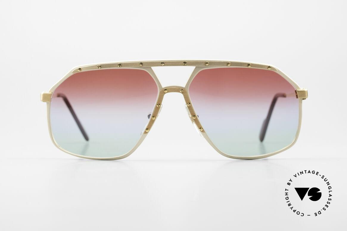 Alpina M6 West Germany Sonnenbrille, ein kostbares 80er ORIGINAL: Sammlersonnenbrille, Passend für Herren und Damen