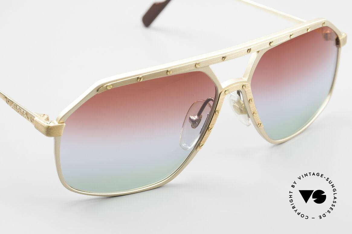 Alpina M6 West Germany Sonnenbrille, ungetragen (wie alle unsere Alpina Designerbrillen), Passend für Herren und Damen