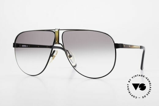 Dunhill 6043 Herrenbrille Horn Applikation Details