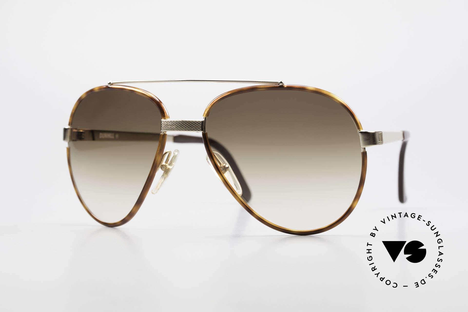 Dunhill 6023 80er Sonnenbrille Herren Luxus, 80er Dunhill vintage Sonnenbrille: 6023, 58/17, Passend für Herren