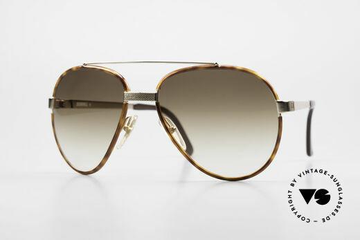 Dunhill 6023 80er Sonnenbrille Herren Luxus Details