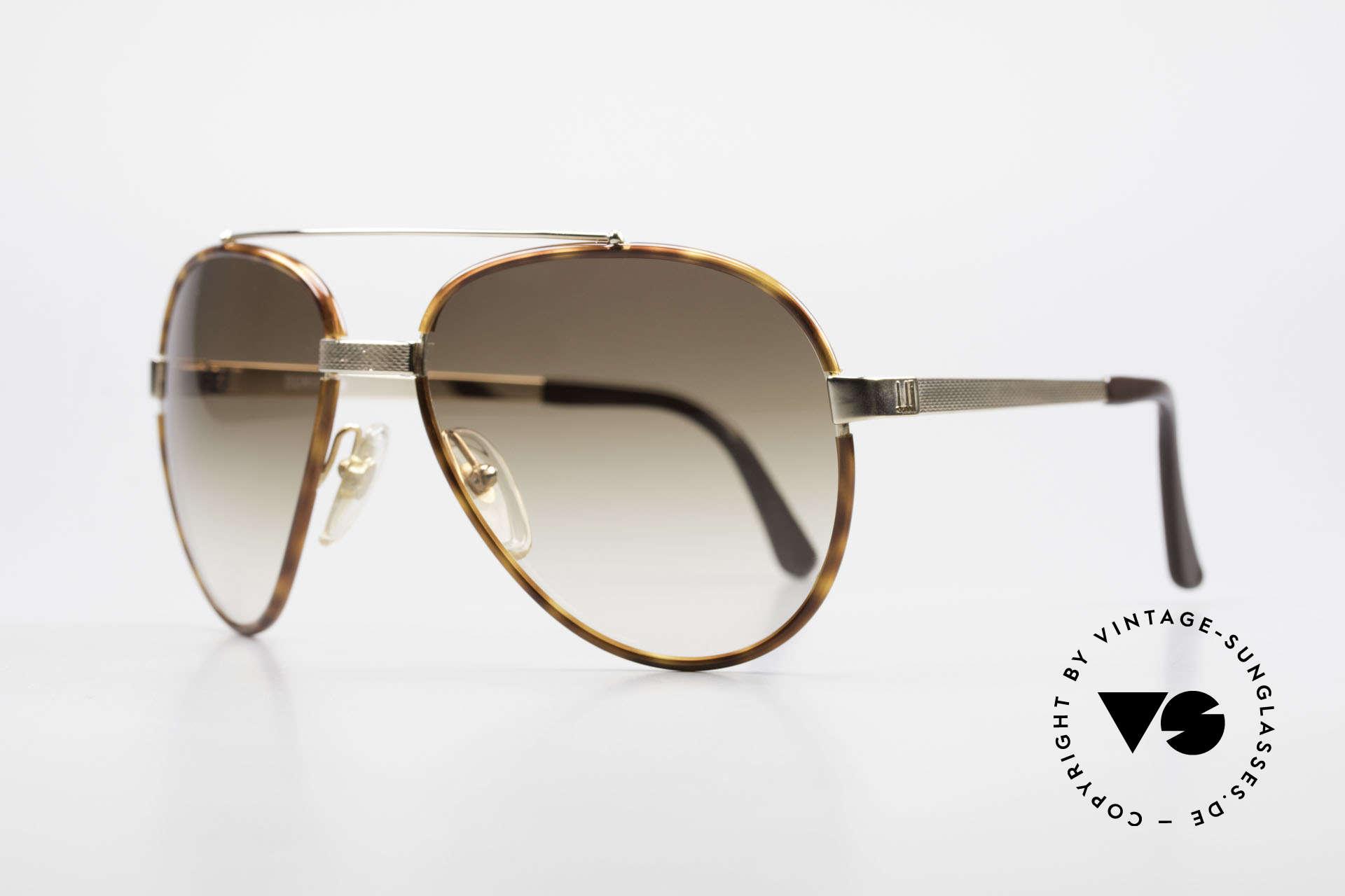 Dunhill 6023 80er Sonnenbrille Herren Luxus, Federgelenk im Nasensteg (optimale Passform), Passend für Herren