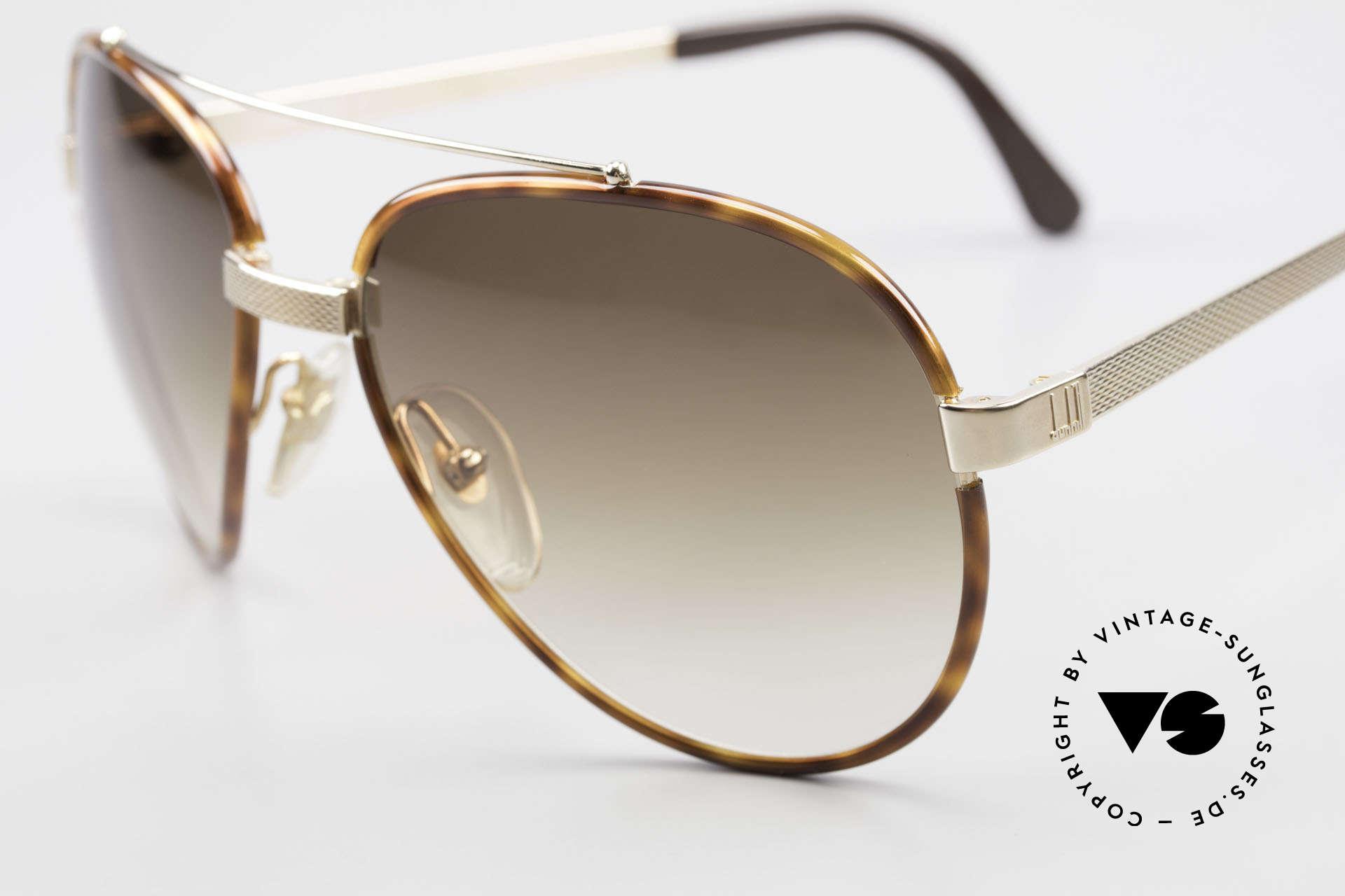 Dunhill 6023 80er Sonnenbrille Herren Luxus, enorm hochwertiger & sehr eleganter Klassiker, Passend für Herren