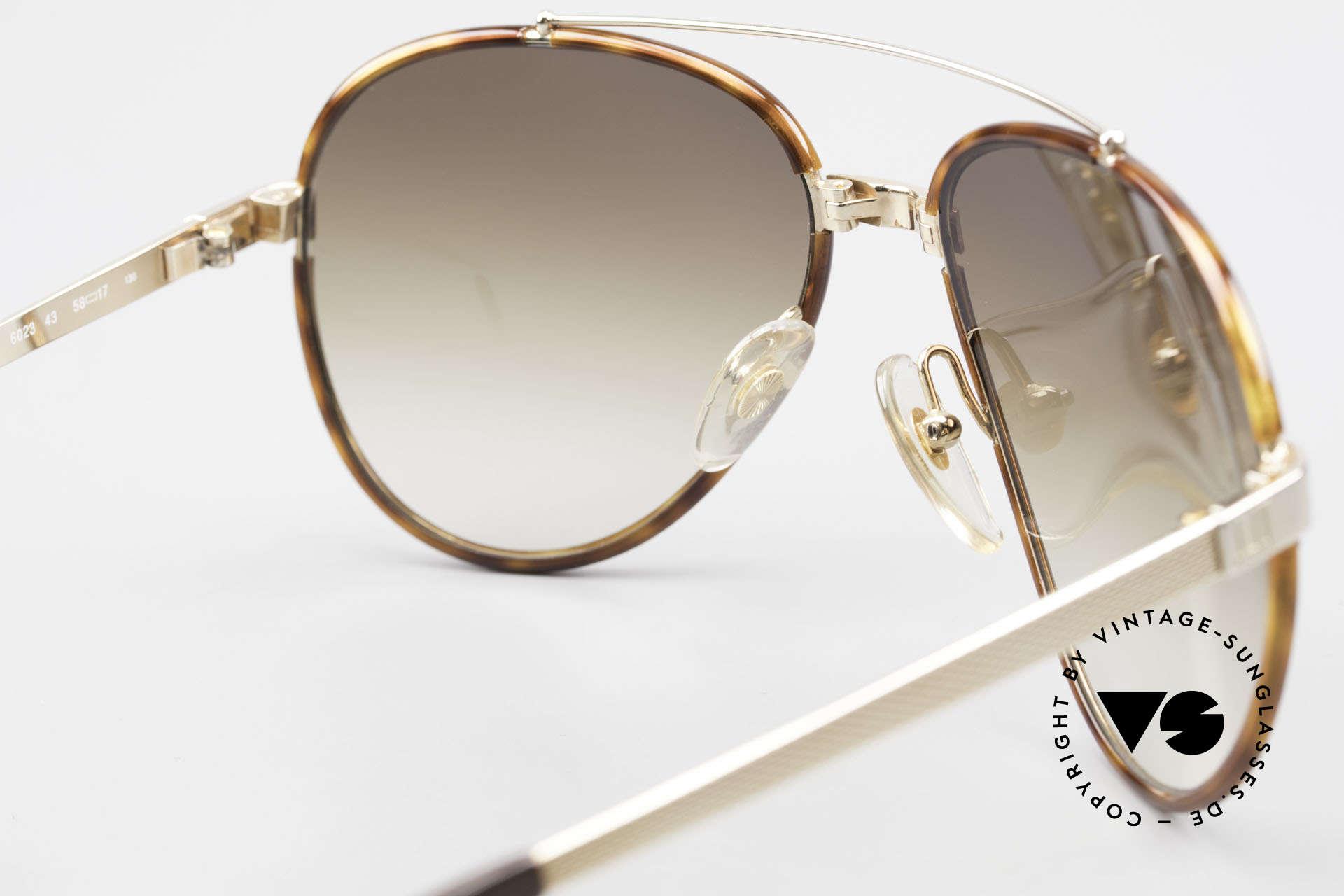 Dunhill 6023 80er Sonnenbrille Herren Luxus, Größe: variabel, Passend für Herren