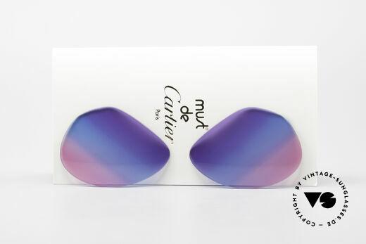 Cartier Vendome Lenses - L Tricolor Sonnengläser Galaxy Details