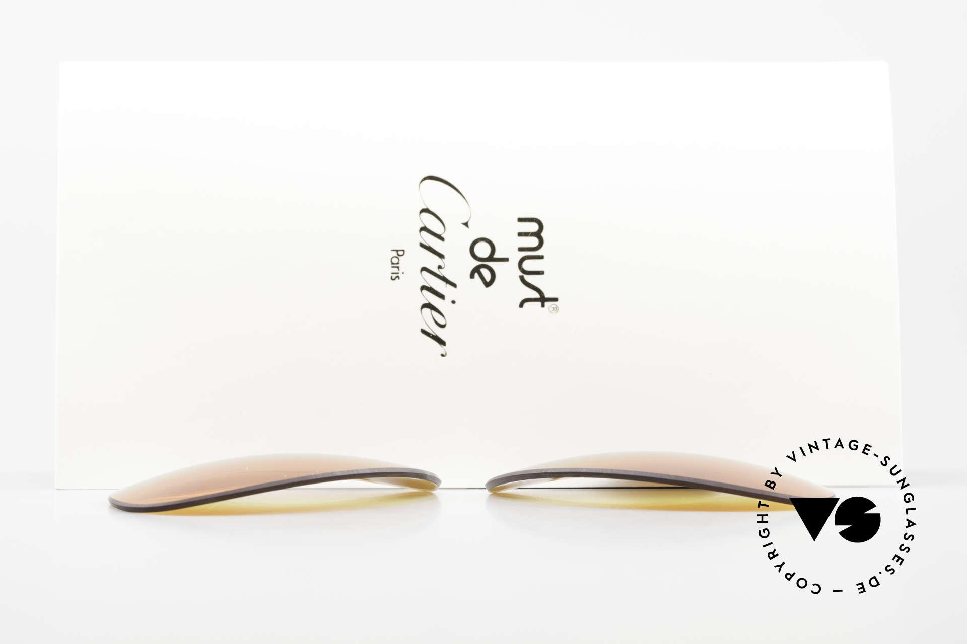 Cartier Vendome Lenses - L 3fach Verlauf Wüstensonne, von unserem Optiker gefertigt: daher neu & kratzerfrei, Passend für Herren und Damen