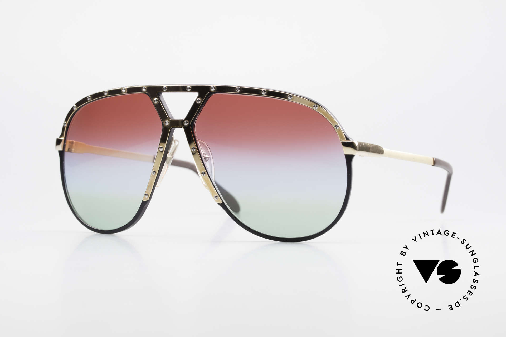 Alpina M1 80er Sonnenbrille Individuell, alte 80er Sonnenbrille, Alpina M1, West Germany, Passend für Herren