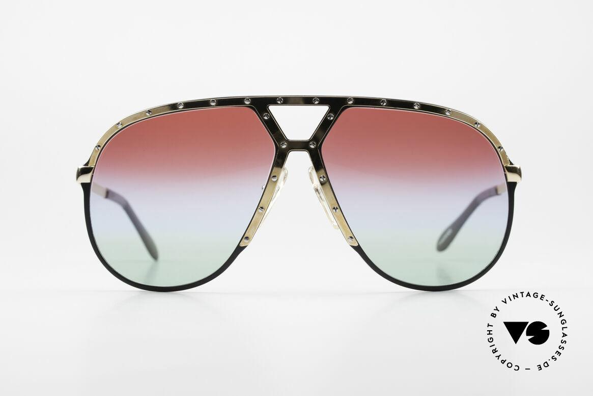 Alpina M1 80er Sonnenbrille Individuell, Stevie Wonder machte diese Brille damals berühmt, Passend für Herren