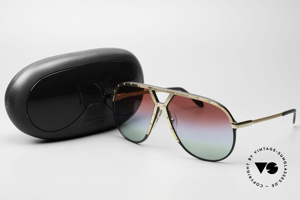 Alpina M1 80er Sonnenbrille Individuell, Größe: large, Passend für Herren