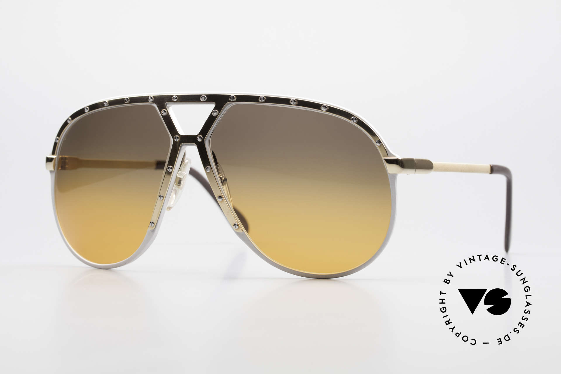 Alpina M1 Customized 80er Sonnenbrille, alte Alpina M1: 80er West Germany Sonnenbrille, Passend für Herren