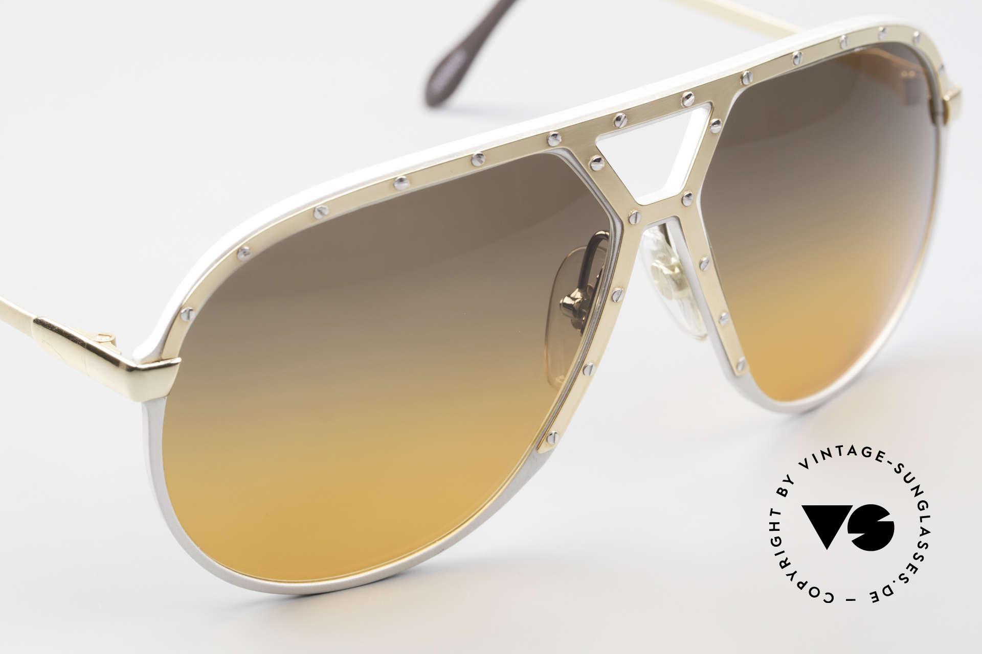 Alpina M1 Customized 80er Sonnenbrille, ungetragenes Sammlerstück (inkl. PORSCHE Etui), Passend für Herren