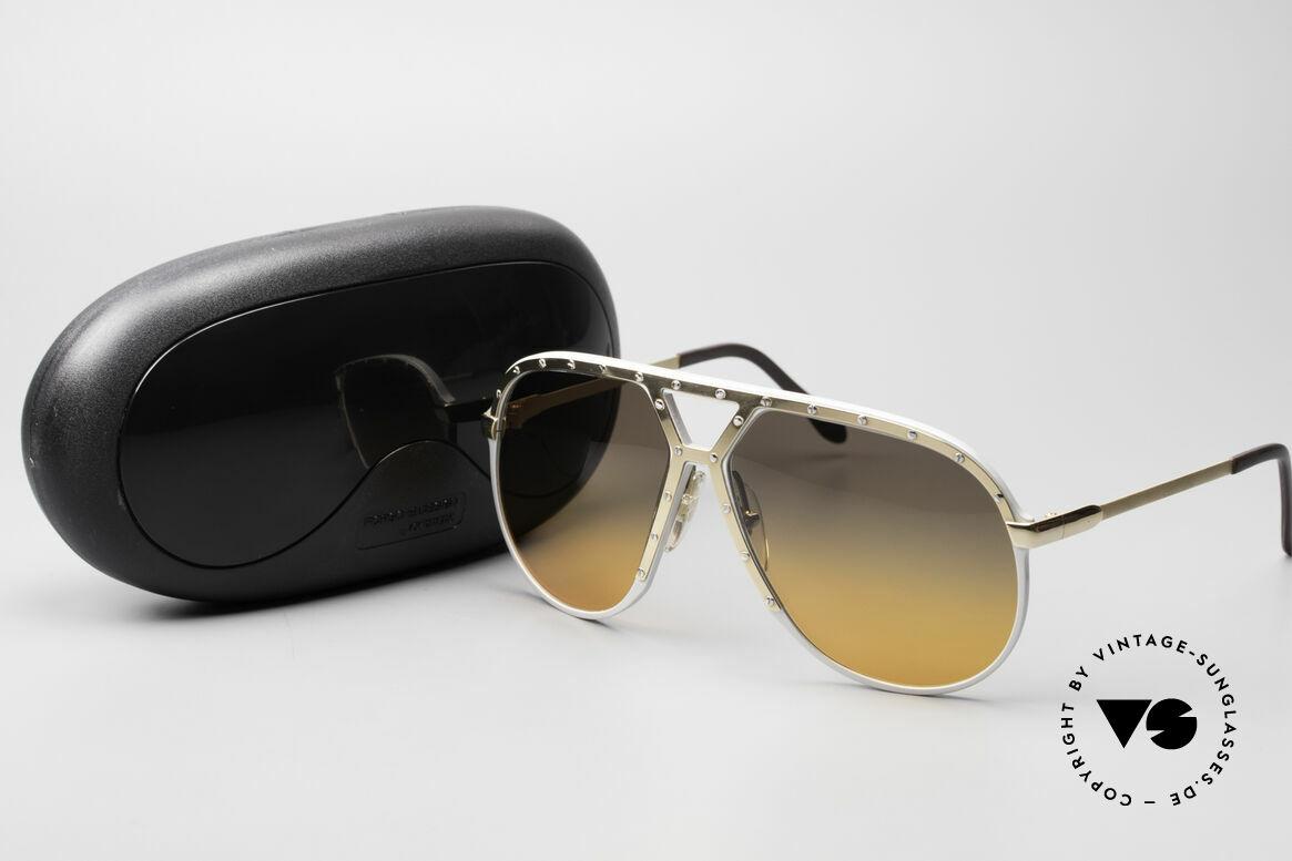 Alpina M1 Customized 80er Sonnenbrille, Größe: large, Passend für Herren