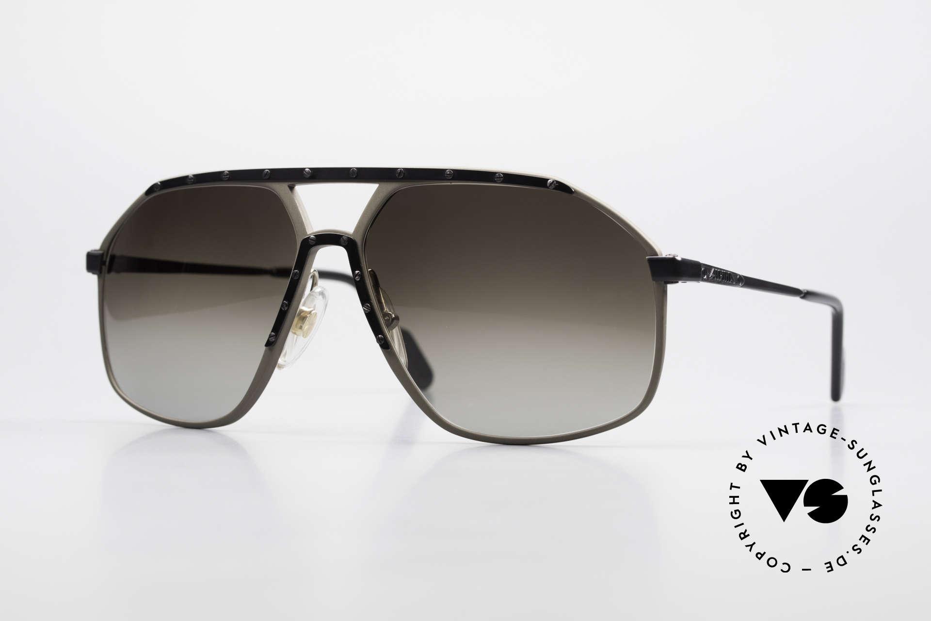 Alpina M1/7 Rare Vintage Sonnenbrille 90er, M1/7 = Nachfolger / Modifikation der alten Alpina M1, Passend für Herren