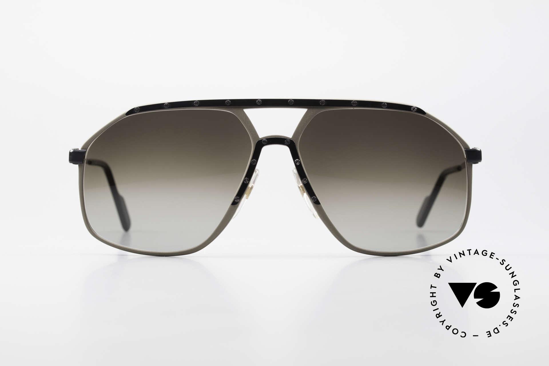 Alpina M1/7 Rare Vintage Sonnenbrille 90er, wurde Ende der 80er/ frühe 90er in Gr. 64/15 gefertigt, Passend für Herren