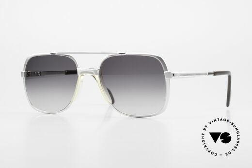 Metzler 0766 Helmut Kohl Vintage Brille 80er Details