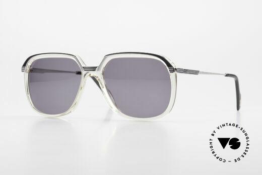 Metzler 6620 Echt 80er Vintage Sonnenbrille Details