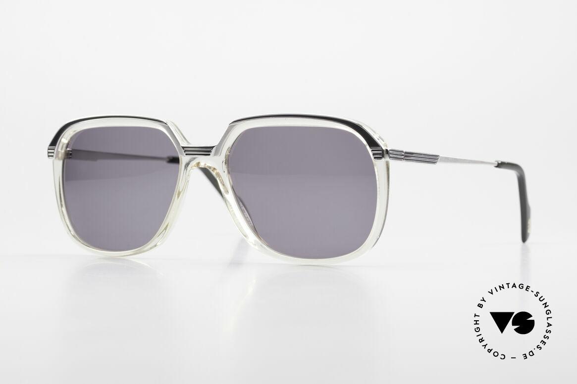 Metzler 6620 Echt 80er Vintage Sonnenbrille, elegante vintage 80er Herrensonnenbrille von Metzler, Passend für Herren