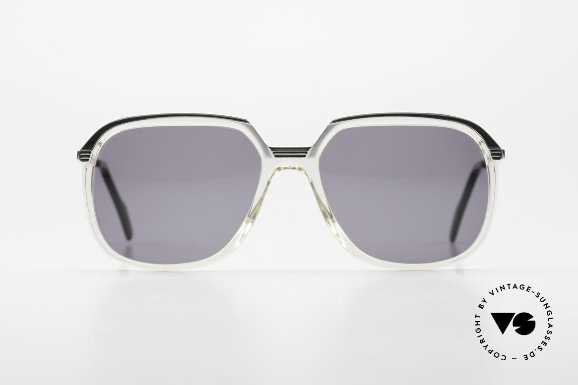 Metzler 6620 Echt 80er Vintage Sonnenbrille, unwiderstehliches 80er Design - einfach ein Klassiker!, Passend für Herren