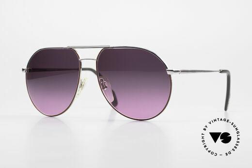 Metzler 0881 Rare 80er Aviator Sonnenbrille Details