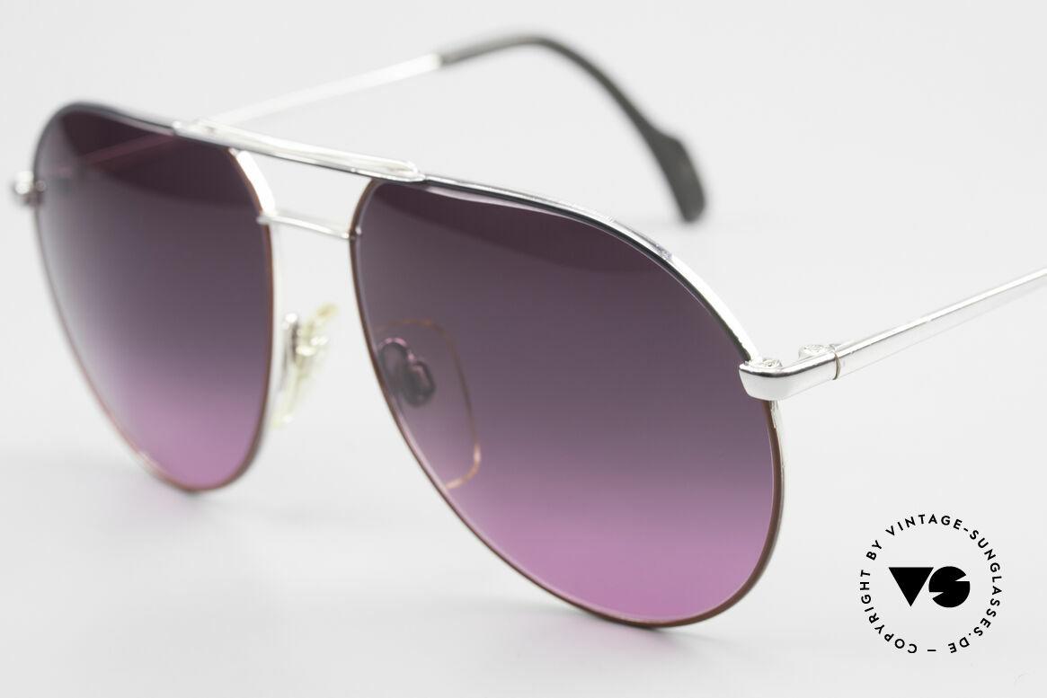 Metzler 0881 Rare 80er Aviator Sonnenbrille, ungetragene RARITÄT (ein echtes Einzelstück!), Passend für Herren und Damen