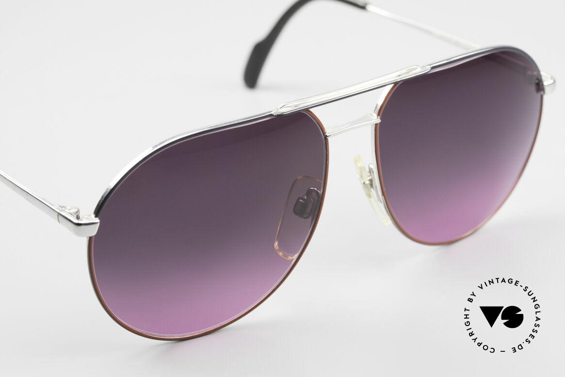 Metzler 0881 Rare 80er Aviator Sonnenbrille, KEINE RETROBRILLE, sondern ein altes Original, Passend für Herren und Damen