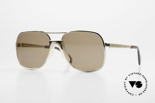 Metzler 7680 Kleine 80er Brille Vergoldet Details
