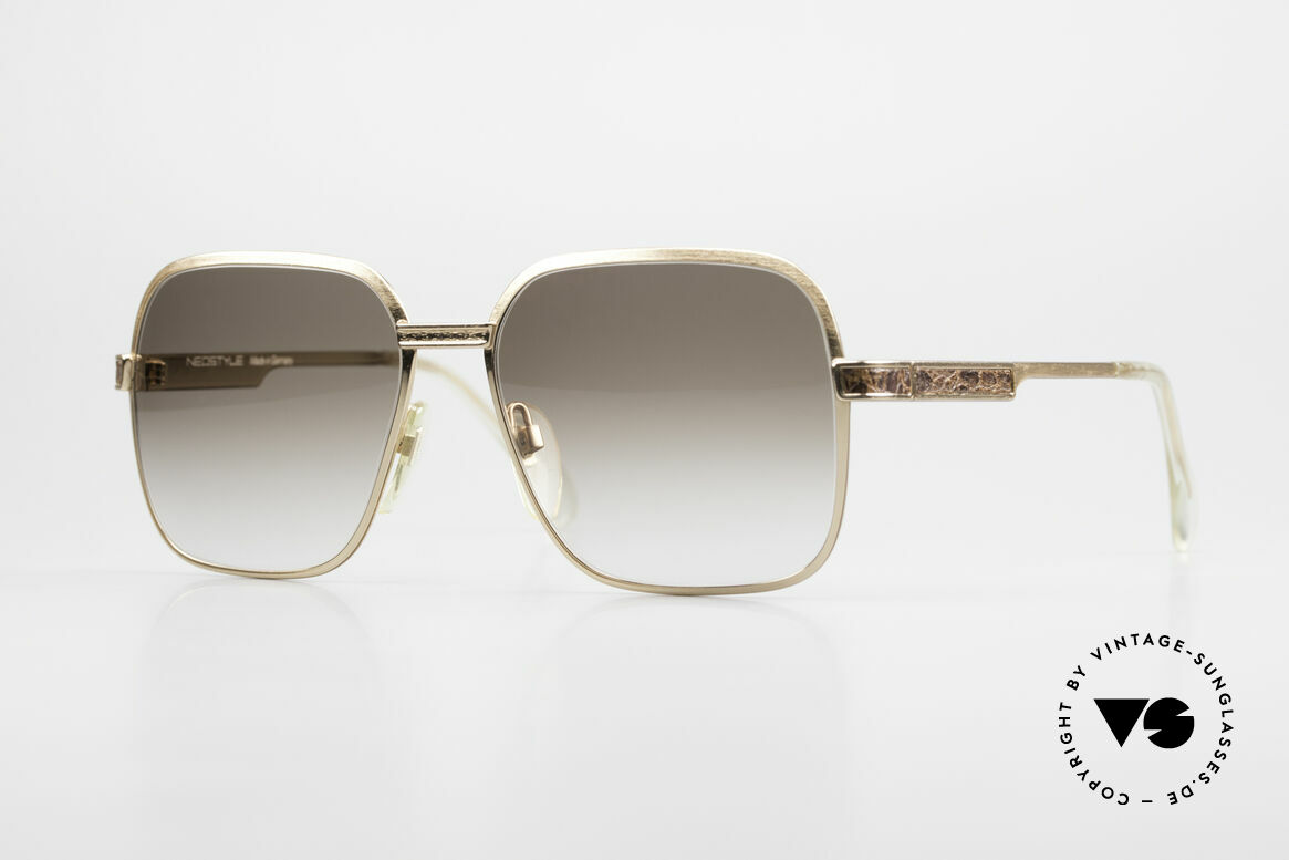 Neostyle Boutique 510 Leder Edition Vergoldet 80er, Neostyle Boutique 510 56/16 Haute Couture, Passend für Herren