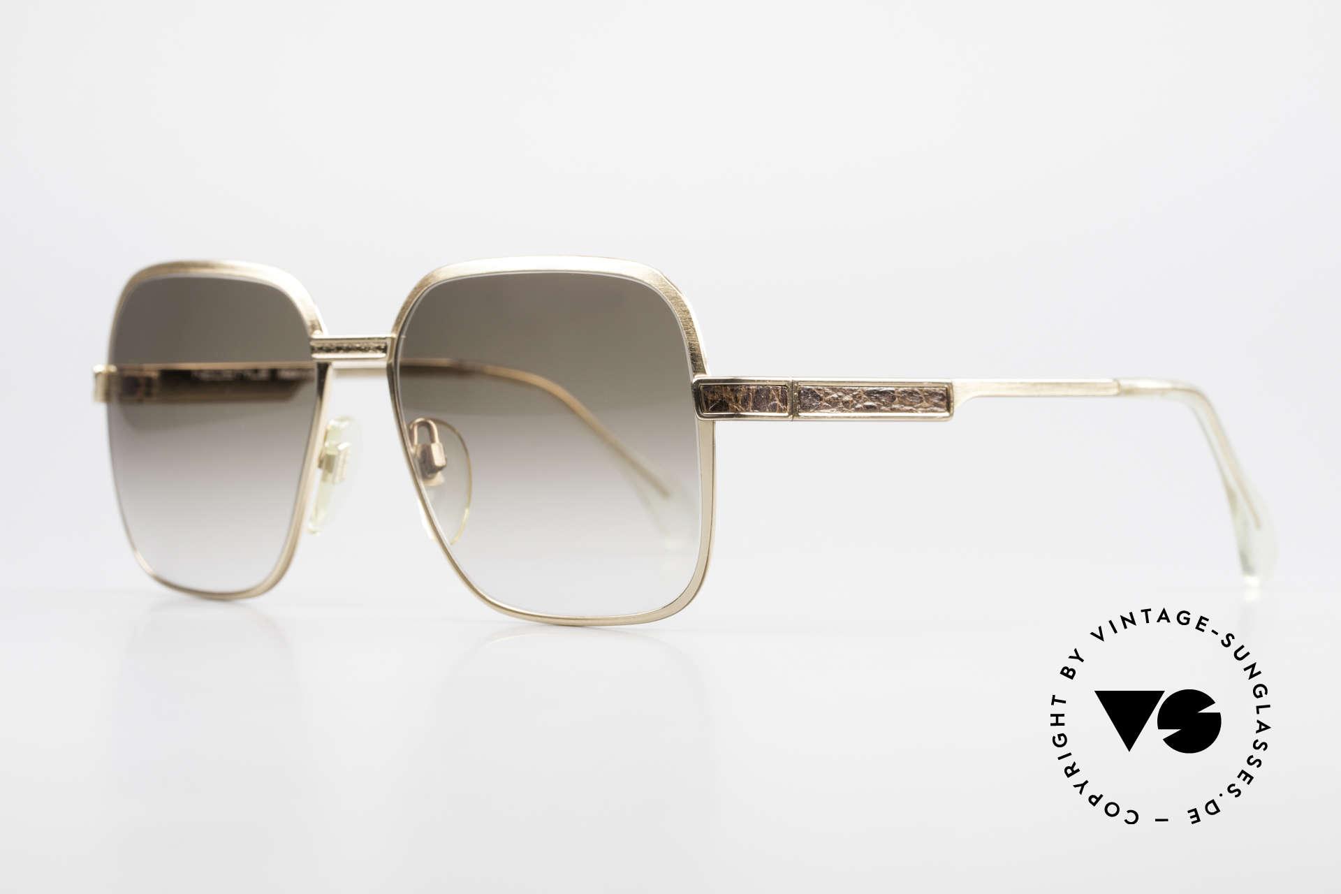 Neostyle Boutique 510 Leder Edition Vergoldet 80er, Fertigung wie aus einem Stück / einem Guss, Passend für Herren