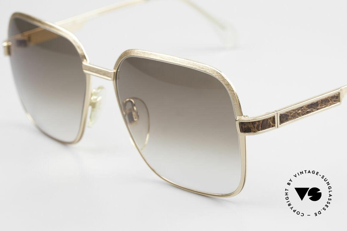 Neostyle Boutique 510 Leder Edition Vergoldet 80er, VERGOLDETE Fassung: fühlbare Top-Qualität, Passend für Herren