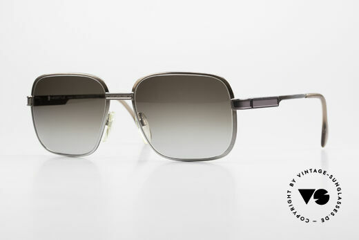 Neostyle Society 190 1980er Haute Couture Brille Details