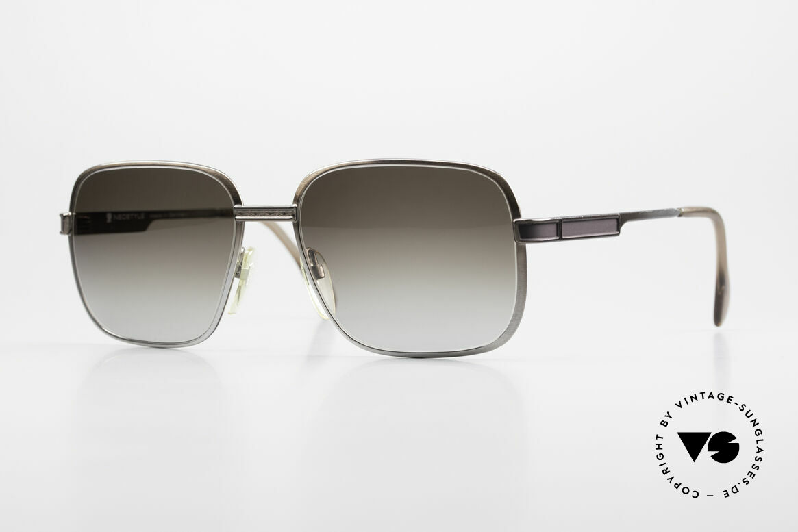 Neostyle Society 190 1980er Haute Couture Brille, 80er Neostyle Society Serie, Mod. 190, Gr. 58/18, Passend für Herren
