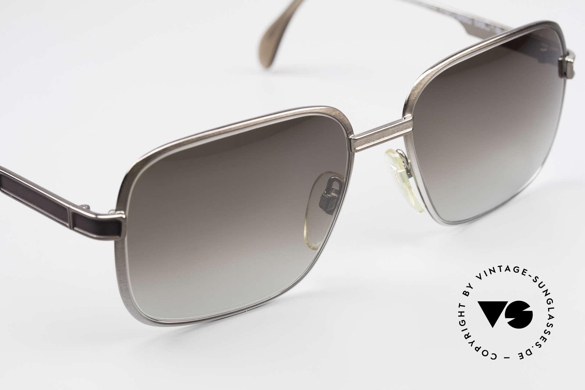 Neostyle Society 190 1980er Haute Couture Brille, KEINE Retrobrille, sondern ein altes 80er Original, Passend für Herren