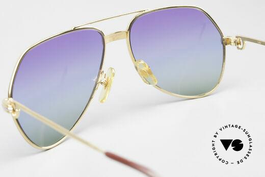 Cartier Vendome LC - S 80er Sonnenbrille Polarlicht, KEINE Retrobrille, sondern ein altes vintage ORIGINAL, Passend für Herren und Damen