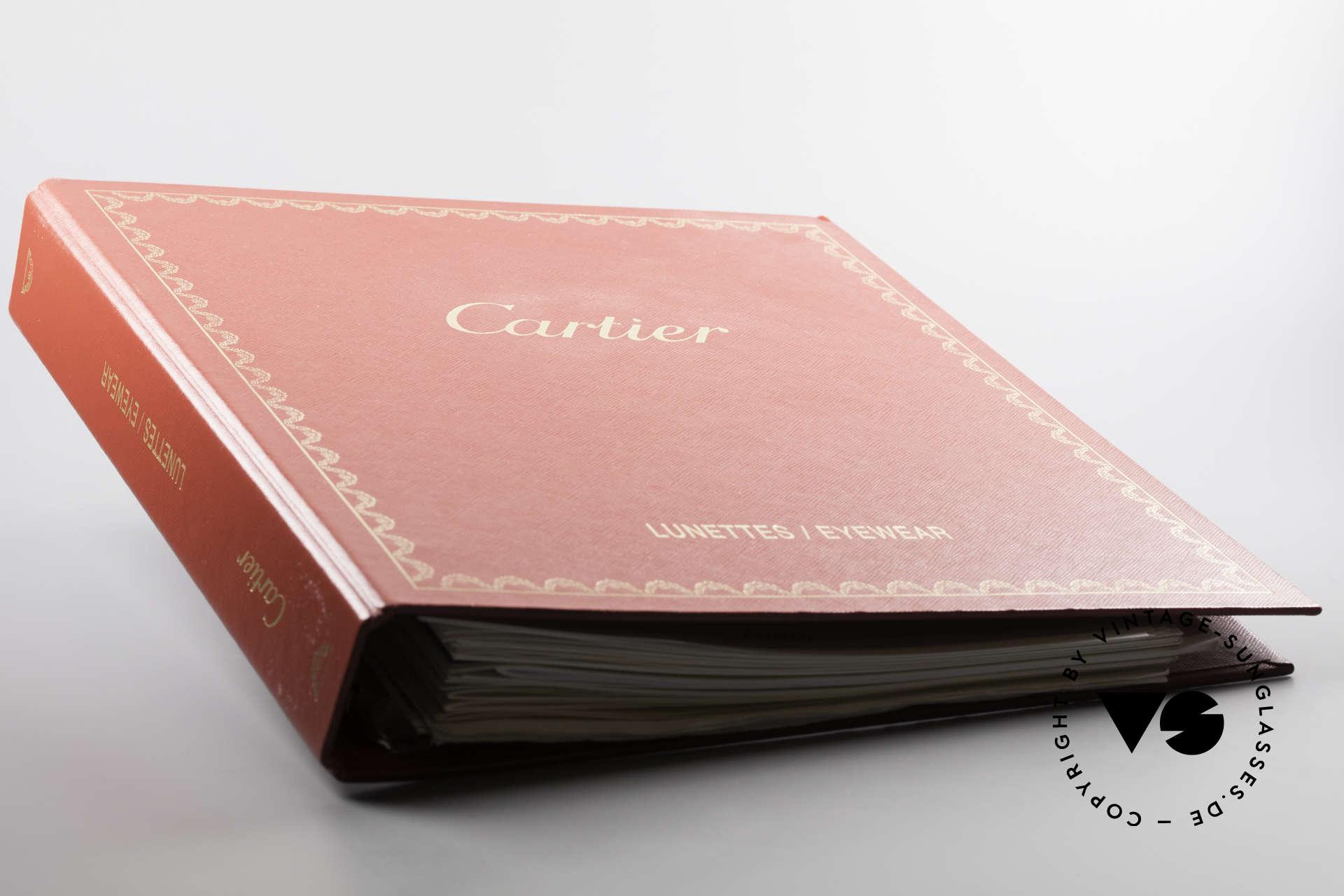Cartier_ Catalog Cartier Journal Preislisten, 30 gemischte Cartier Katalog-Seiten diverser Jahre, Passend für Herren und Damen