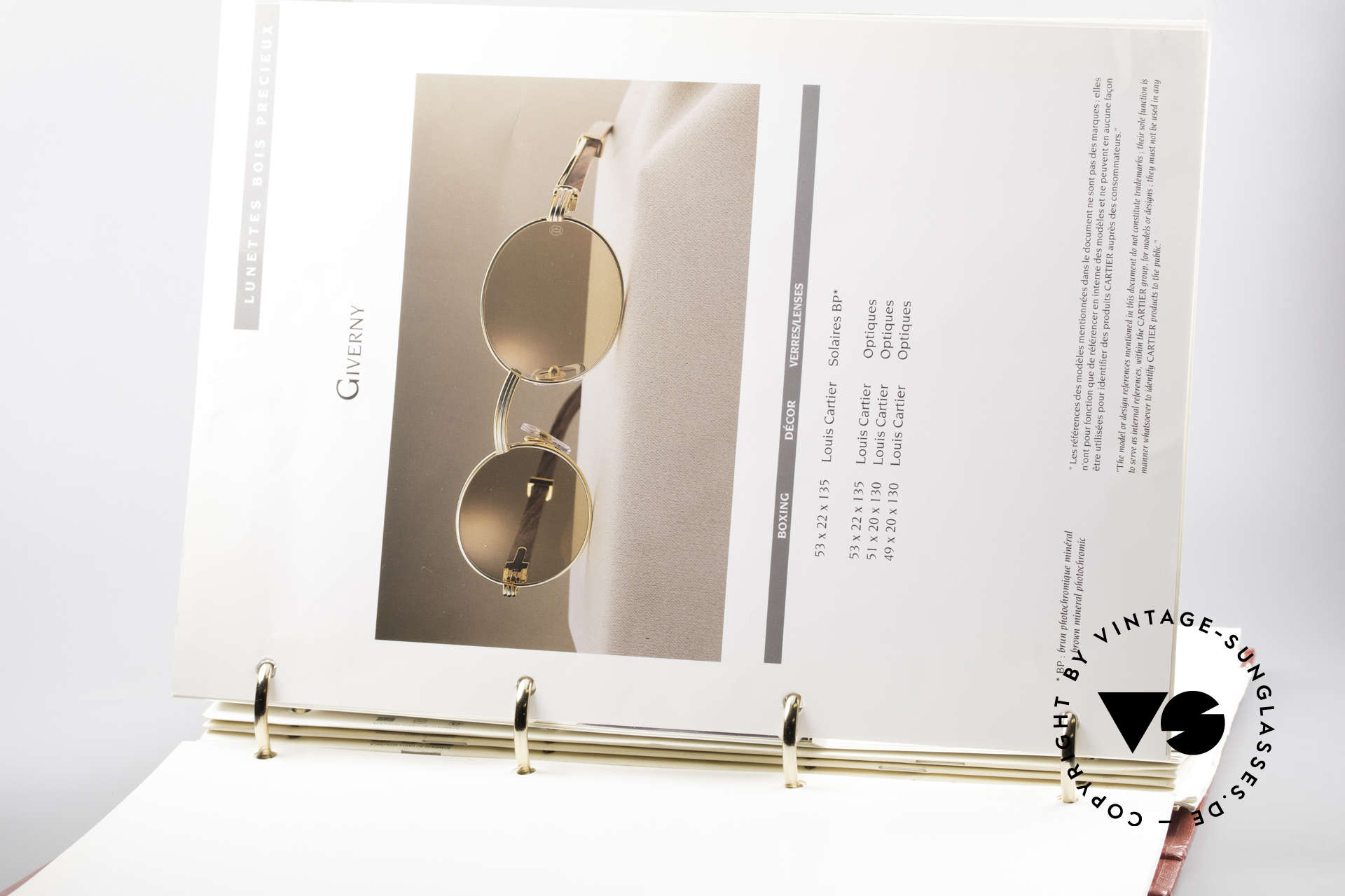 Cartier_ Catalog Cartier Journal Preislisten, mit technischen Daten & nützlichen Referenznummern, Passend für Herren und Damen