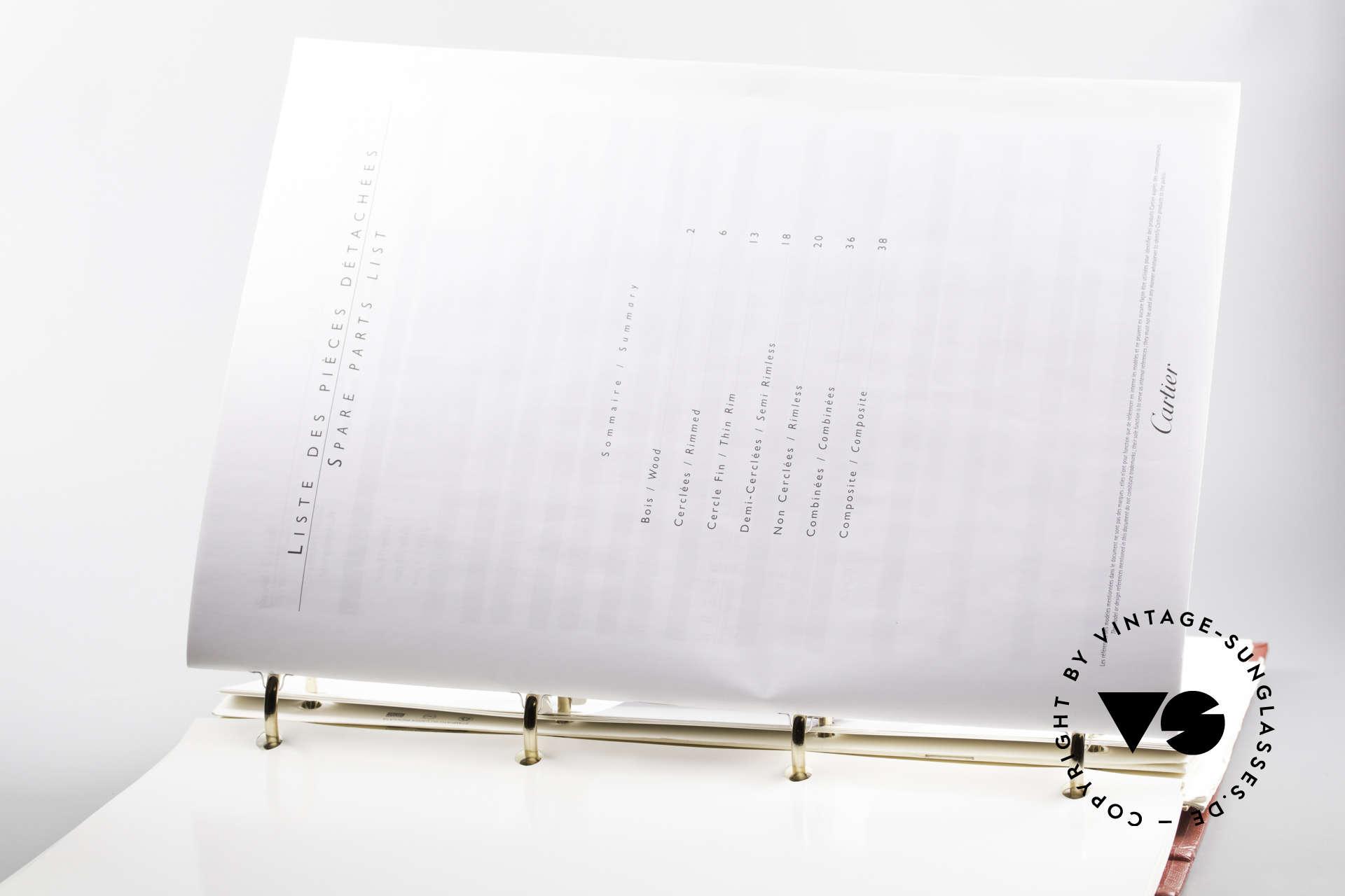 Cartier_ Catalog Cartier Journal Preislisten, spannendes Sammlerstück im gebrauchten Top-Zustand, Passend für Herren und Damen