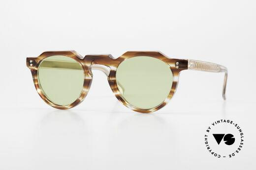 Lesca Panto 6mm Antike 1960er Sonnenbrille Details