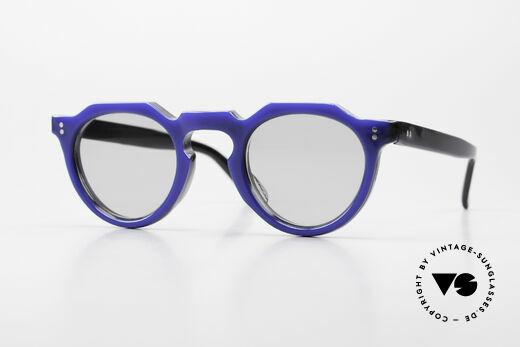 Lesca Panto 6mm 60er Frankreich Brille Panto Details
