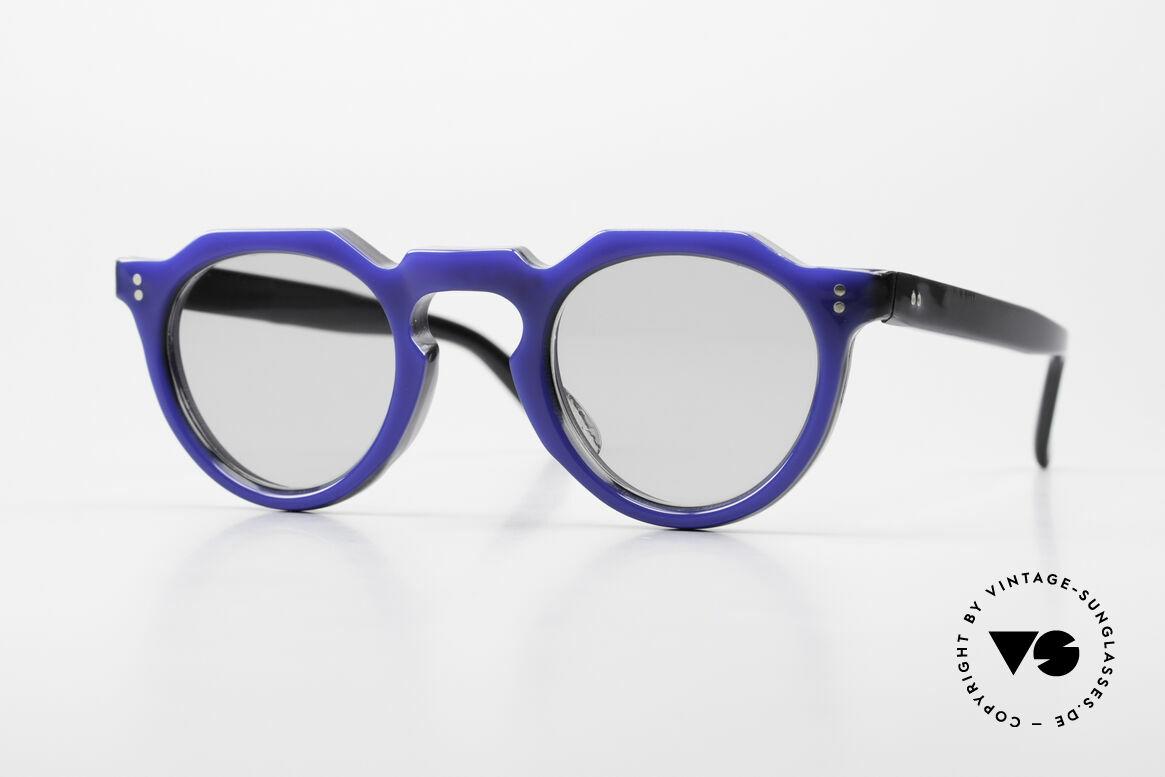 Lesca Panto 6mm 60er Frankreich Brille Panto, alte Lesca Sonnenbrille im Panto-Stil aus den 60ern, Passend für Herren