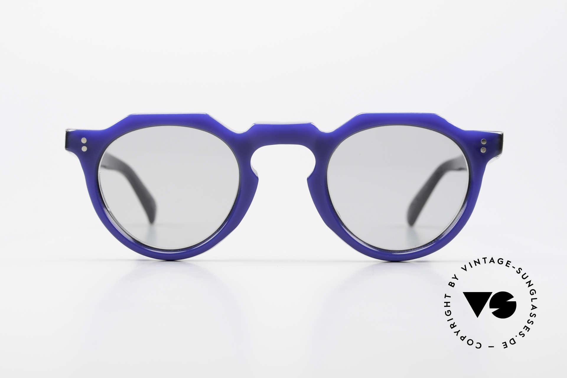 Lesca Panto 6mm 60er Frankreich Brille Panto, enorm stabile Fassung in absoluter Spitzen-Qualität, Passend für Herren