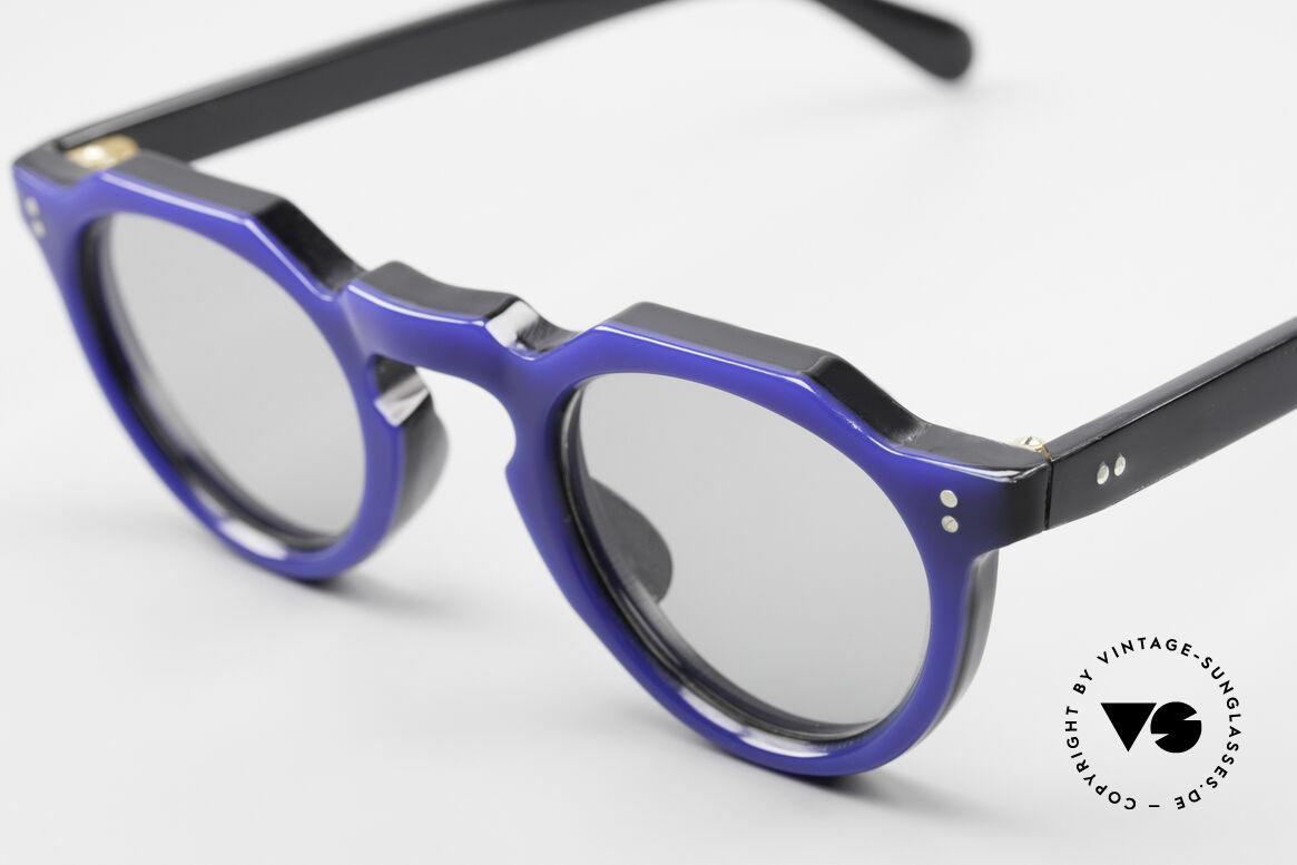 Lesca Panto 6mm 60er Frankreich Brille Panto, made in Frankreich, jedoch OHNE Rahmen-Aufdrucke, Passend für Herren