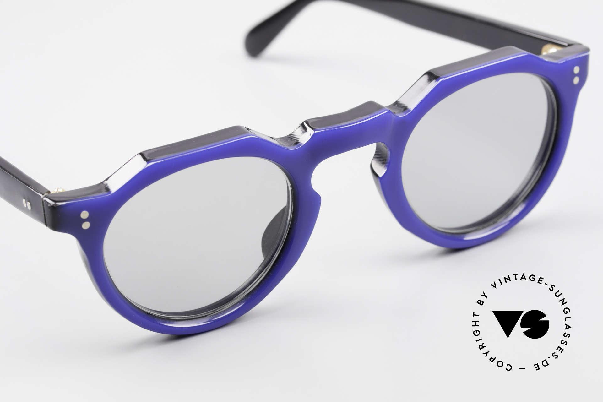 Lesca Panto 6mm 60er Frankreich Brille Panto, Mod. für echte vintage Kenner / Experten / Liebhaber, Passend für Herren