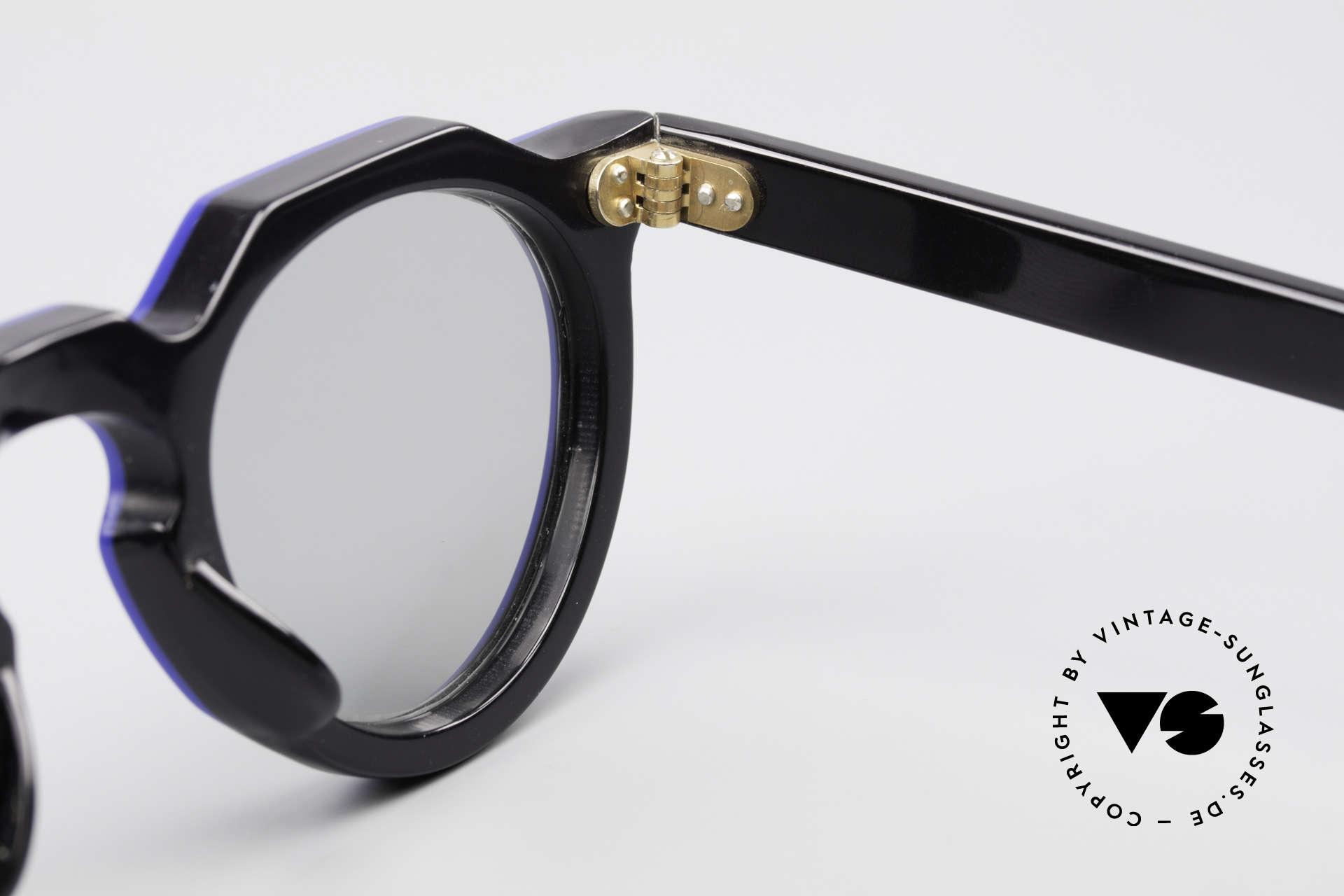 Lesca Panto 6mm 60er Frankreich Brille Panto, NICHT die aktuelle Lesca-Kollektion, sondern ALT!!!, Passend für Herren