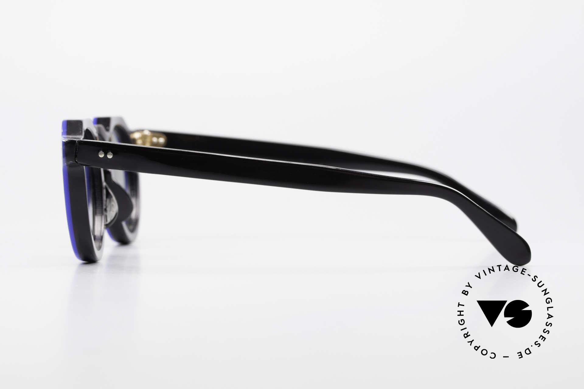 Lesca Panto 6mm 60er Frankreich Brille Panto, Größe: small, Passend für Herren