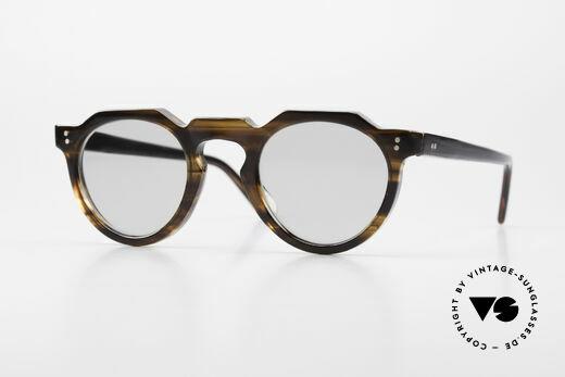 Lesca Panto 6mm 60er Brille Panto Frankreich Details