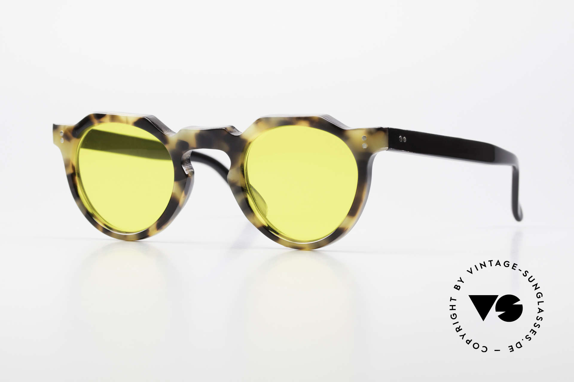 Lesca Panto 6mm 60er Panto Brille Frankreich, alte Lesca Sonnenbrille im Panto-Stil aus den 60ern, Passend für Herren und Damen