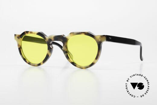 Lesca Panto 6mm 60er Panto Brille Frankreich Details