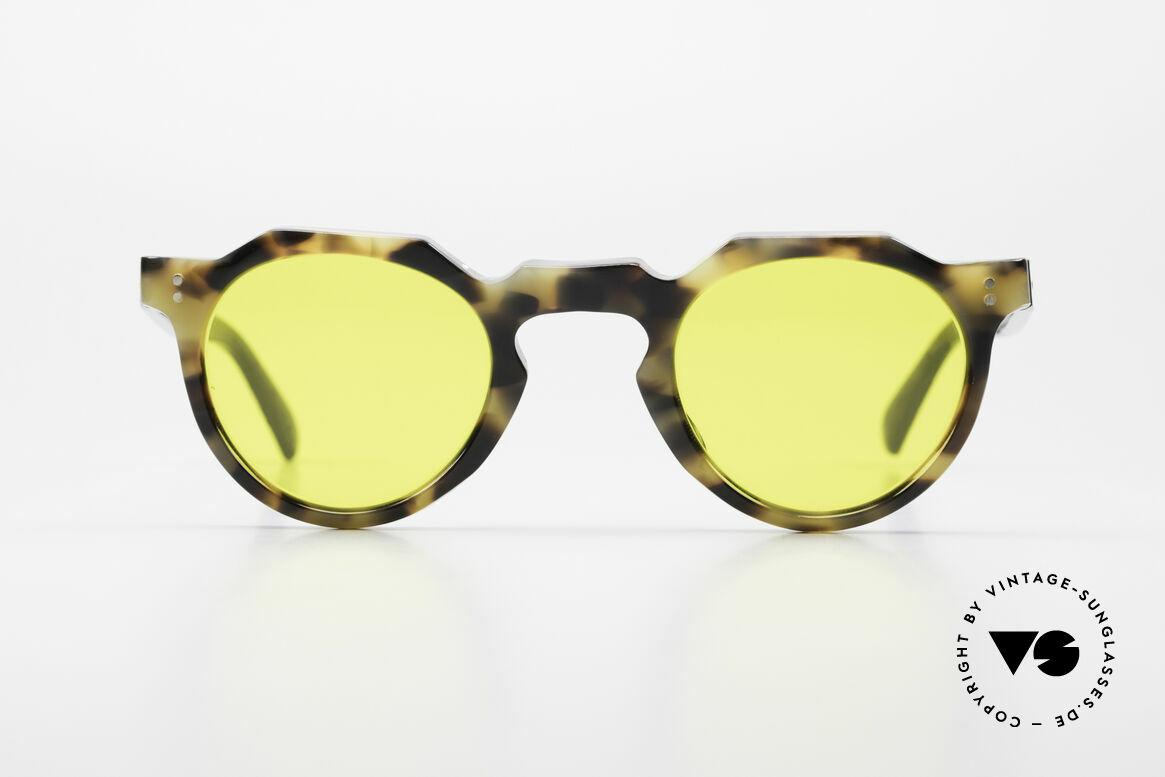 Lesca Panto 6mm 60er Panto Brille Frankreich, enorm stabile Fassung in absoluter Spitzen-Qualität, Passend für Herren und Damen