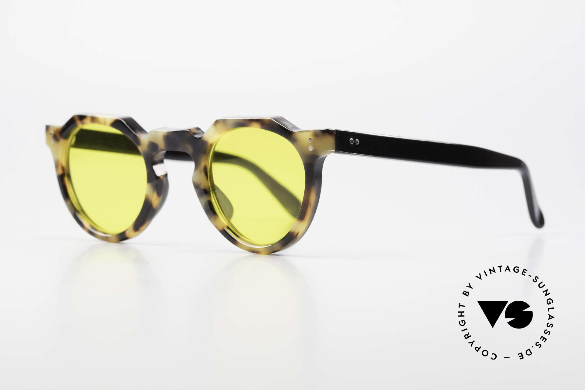 Lesca Panto 6mm 60er Panto Brille Frankreich, 6mm dickes Rahmenprofil = gemacht für die Ewigkeit, Passend für Herren und Damen